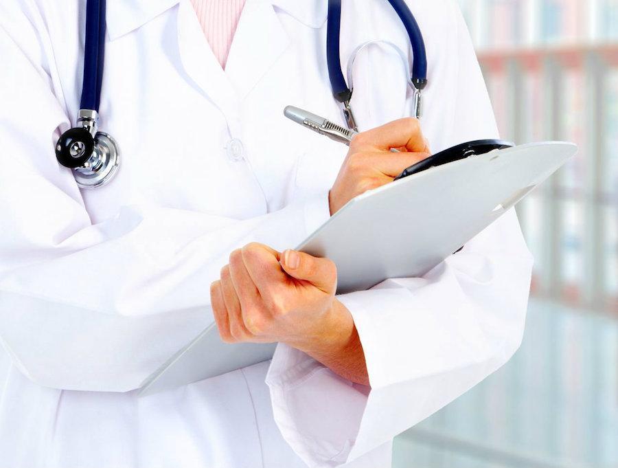 Сбор анамнеза у пациента