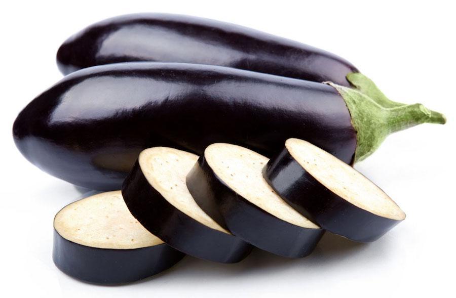 Рекомендованные овощи - баклажан