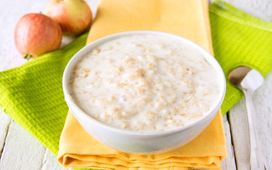 Лечебная диета при панкреатите - овсяная каша на молоке