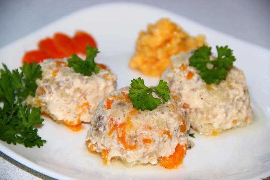 Рыба рекомендуется не жирных сортов, или суфле