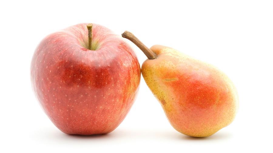 Яблоки и груши в диете при панкреатите