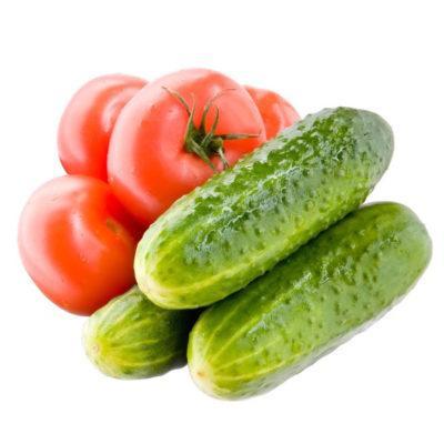 Огурцы и помидоры в диете панкреатита