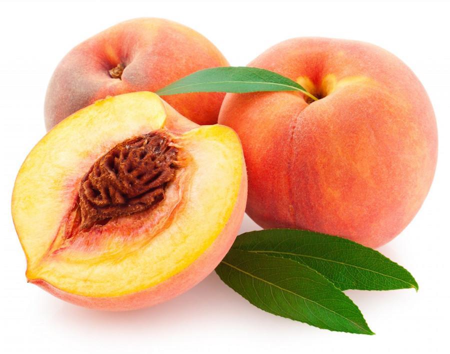 Персики в натуральном виде можно употреблять только во время ремиссии