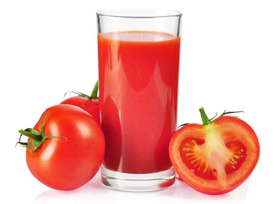 Один стакан томатного сока ежедневно