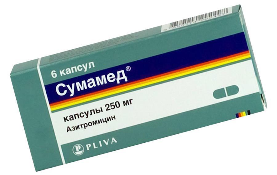 Сумамед в таблетках