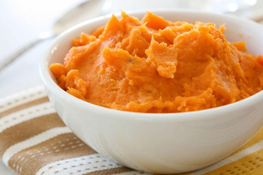 Тыквенно-картофельное пюре