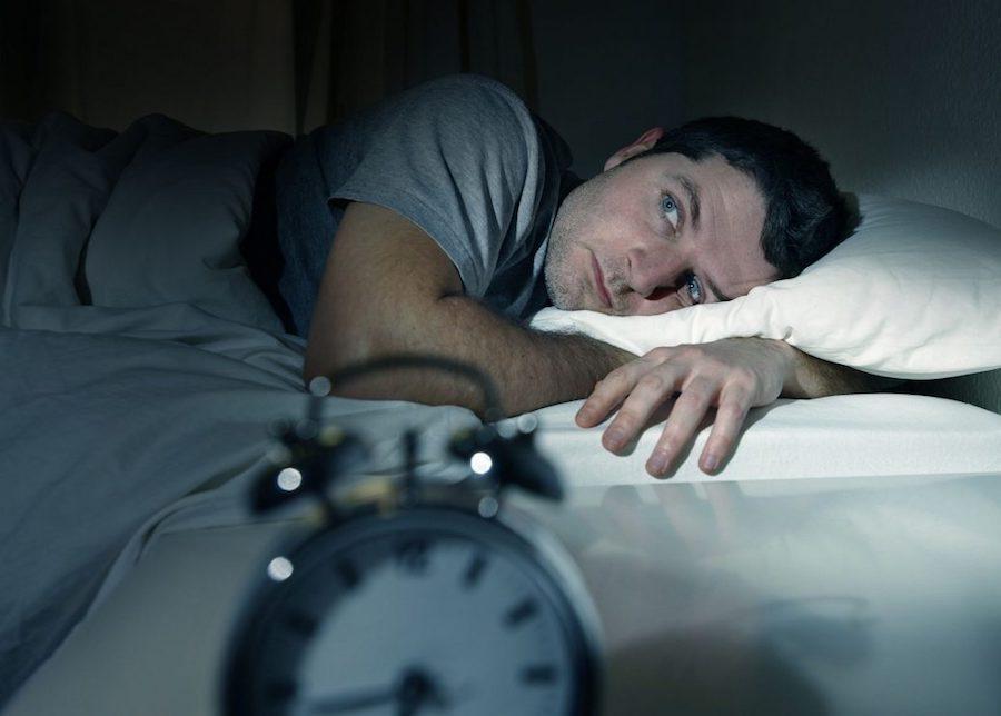 Бессонница - один из признаков заболевания печени