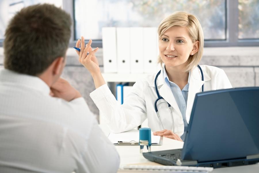 Консультация с лечащим врачем