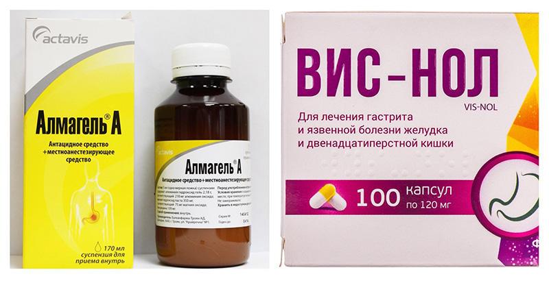 Антацидные и адсорбирующие препараты
